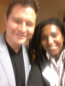 Ruth Noel & Daniel Priestly, author of Key Person of Influence