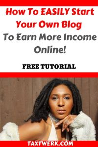 how to start a blog and earn more income online pinterest
