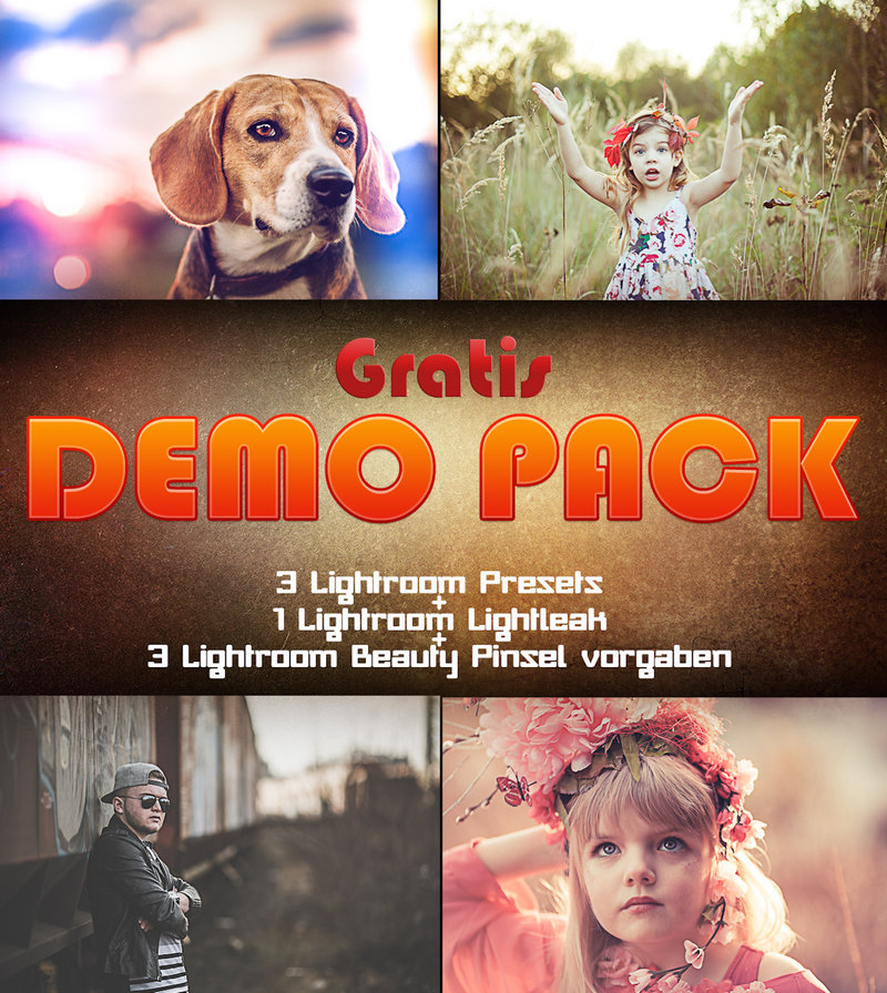 Produktbox Lightroom GRATIS DEMO PACK