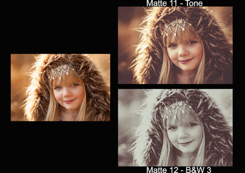Vorschau Lightroom Presets Matte Looks