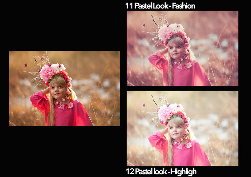 Vorschau Lightroom Presets Pastel Looks