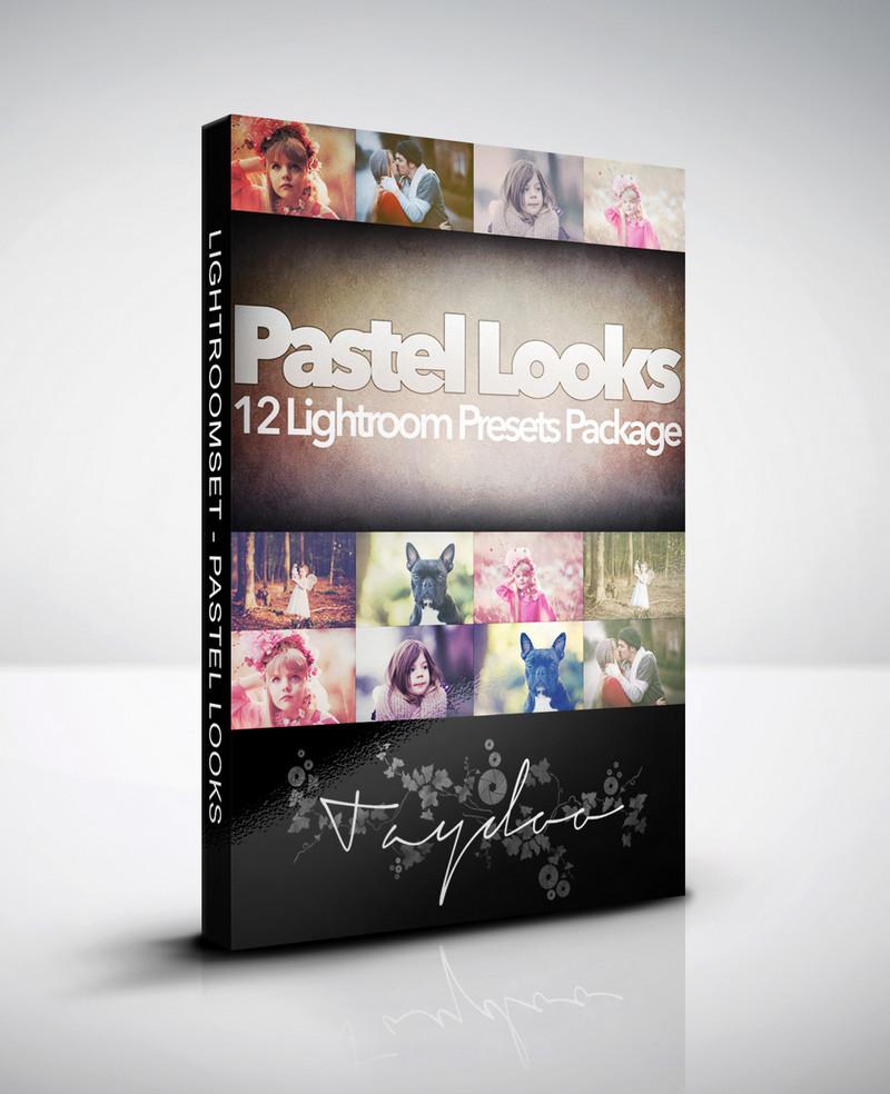 Produktbox Lightroom Presets Pastel Looks