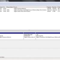 Windows 7 - Sabit Diski bölümlere ayırma (Resimli Anlatım)