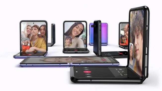 Katlanır ekranlı Galaxy Z Flip