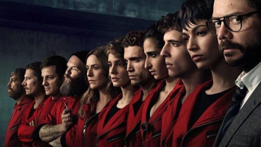 La Casa Del Papel 4ncü sezon 3 Nisan Yayında