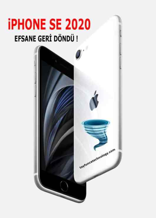 iPhone SE 2020 Özellikler ve fiyatı