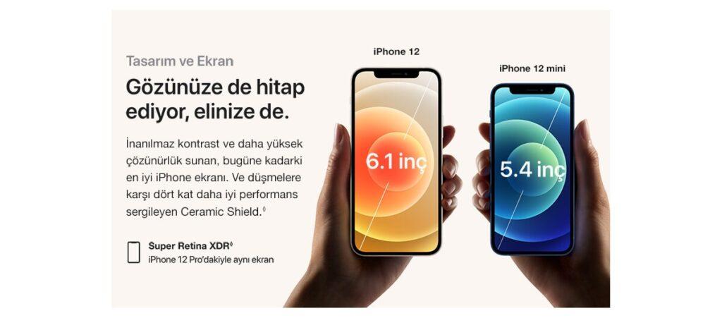 iPhone 12 mini Ekranı