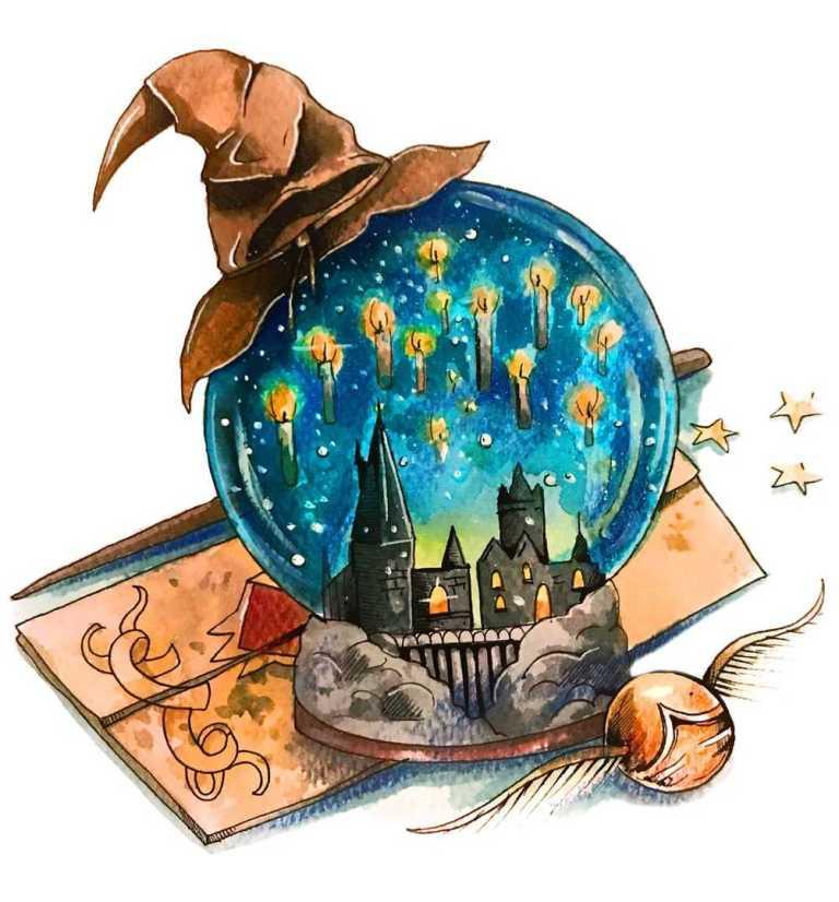 Хогвардс — волшебное место куда мечтает попасть любой