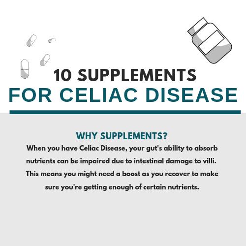 10 Supplements for Celiac Disease