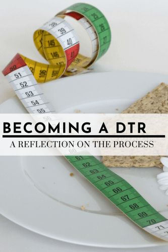 Becoming a Dietetic Technician - A Reflection on the Process - Tayler Silfverduk DTR - #jobs #nutritionlife #nutritionprofessional #eatright #dietetictechnician #dieteticfacts #education #reflection #collegelife #CDR #ACEND #planofstudy #welcometomylife #lifeasadieteticstudent #dieteticstudent #rd2be #DTR #nutritionfacts