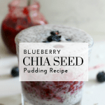 Blueberry Chia Seed Pudding Recipe - Tayler Silfverduk - I got you covered when it comes to Red, White, and Blue foods for Independence Day! This Fourth of July Recipe is fiber rich and is a Gluten-free recipe, vegan recipe, and a dairy free recipe. It involved only 5 ingredients and is packed full of fiber, healthy fats, and plantbased protein! #chiaseed #fiberrich #chiaseeds #chiaseedjam #chiaseedjelly #blackberry #everydayfoodupgrade #glutenfree #hearthealthyfood #antioxidantrich #fiberrich #nutrition #5ingredient #vegan #plantbased #plantprotein #completeprotein #blueberry #chiaseedpudding #chiaseedpuddingrecipe #puddingrecipe
