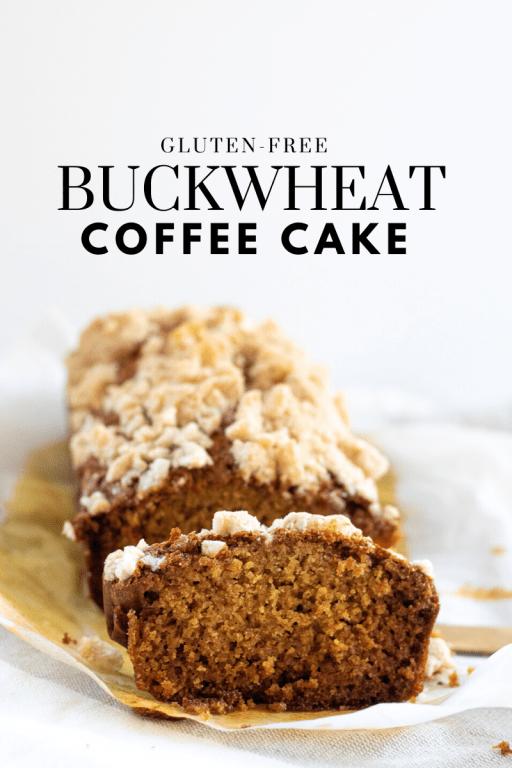 Buckwheat Coffee Cake - Tayler Silfverduk DTR - celiac safe cake, celiac safe recipe, gluten-free recipe, gluten free recipe, glutenfree recipe, buckwheat, buckwheat coffee cake, coffee cake, gluten-free coffee cake, gluten-free buckwheat recipe, drizzilicious, cinnamon swirl, easy gluten-free recipe, gluten-free baking #coffeecake #glutenfreebaking #glutenfreerecipe #celiacsafe #glutenfreeeats #glutenfreedessert #buckwheat #buckwheatrecipe