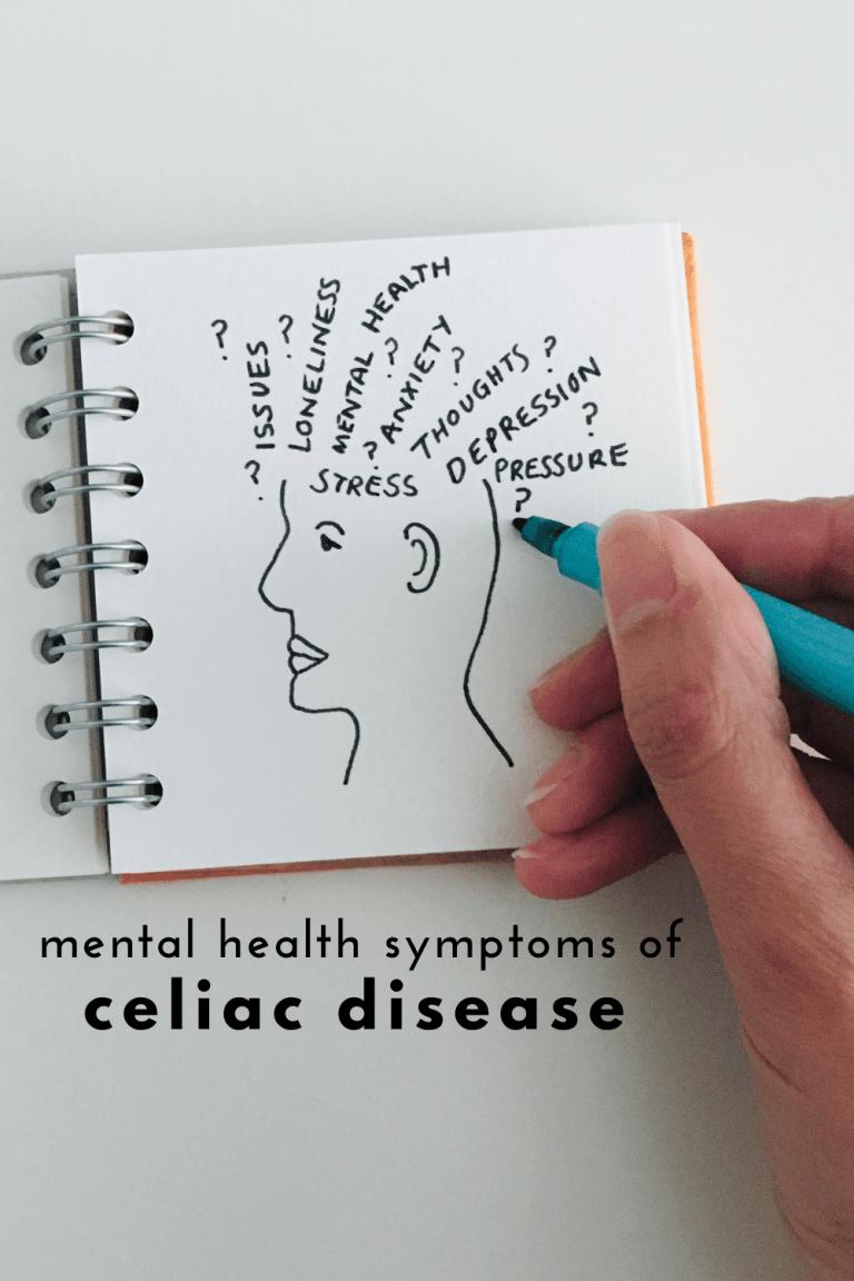 How Celiac Disease Impacts Your Mental Health - Signs and Symptoms of Celiac Disease - Mental Signs and Symptoms of Celiac, Celiac Mental Symptoms, Atypical Celiac, Atypical Signs of Celiac, Signs of Silent Celiac -Celiac Disease and Mental Health - Tayler Silfverduk, celiac dietitian