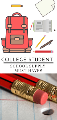 College Student School Supply Must-Haves - Tayler Silfverduk - Top Back To School Supplies you need to be successful at college! #backtoschool #backtoschoolhacks #BTS #backpack #backpackessentials #schoolsupplies #amazon #glutenfree #collegehacks #universityhacks #schoolsupplyhacks #collegetips #universitytips