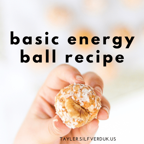 Basic Energy Ball Recipe: Gluten-free + Nut-free