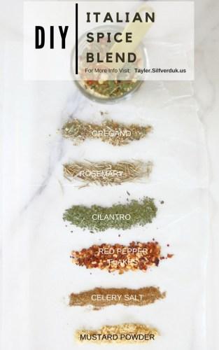 DIY Italian Spice Blend - Tayler Silfverduk DTR - #DIYspiceblend #antiinflammatoryspices #antiinflammatoryherbs #italianspiceblend #saladupgrade #italianspice #glutenfreespiceblend #diyseasonings #seasoning #seasoningrecipe #spiceblendrecipe #simplespices
