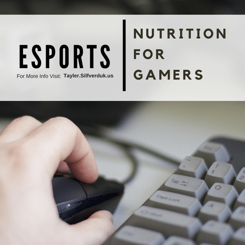Esports Nutrition – Nutrition for Video Gamers