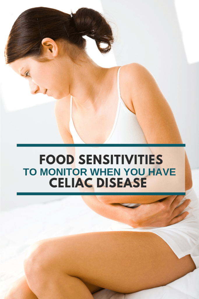 Food Sensitivities to Monitor if you have Celiac Disease - Tayler Silfverduk, DTR - food intolerance and celiac disease, food sensitivities and celiac disease, celiac disease symptoms, celiac disease facts, #celiacdisease #celiac #coeliac #celiacdietitian #celiaclife #coeliacdisease #sprue #celiacfacts #foodsensitivities #foodintolerances #eliminationdiets #dietetics #nutritioninfo #nutritioneducation #infographic #dairyintolerance #guthealth