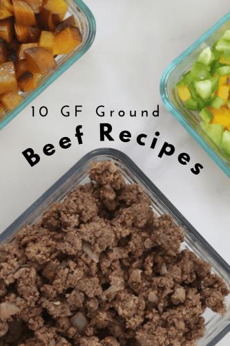 Gluten-Free Ground Beef Recipes - Tayler Silfverduk, celiac dietitian - recipes to make with ground beef, gluten-free recipes with ground beef, ground beef recipes, easy ground beef dinner, gluten-free ground beef dinner