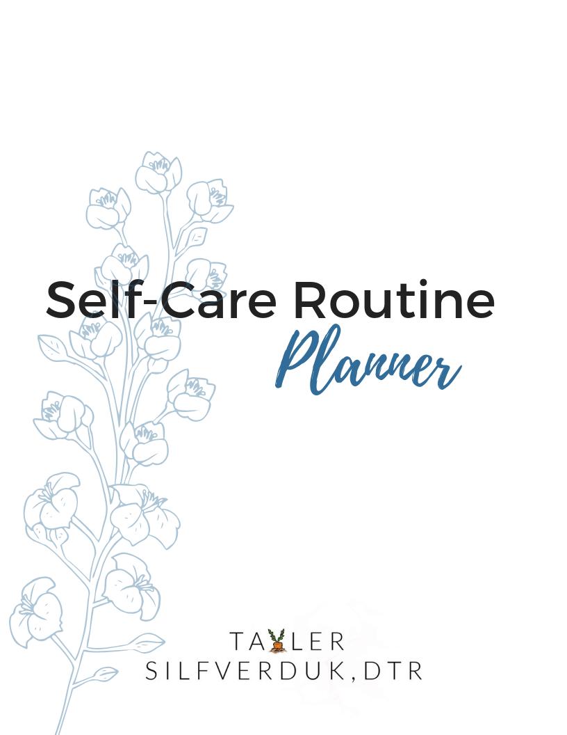 photograph regarding Printable Self Care Plan known as How towards Build a Self-Treatment Plan (+ printable self-treatment