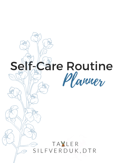 How to Develop a Self-Care Routine - Tayler Silfverduk DTR - self-care routine planner, how to plan for self-care, weekly selfcare, monthly selfcare, daily selfcare, yearly selfcare, #dietetics #celiacnutritionist #celiacdietitian #glutenfreenutritionist #glutenfreedietitian #selfcareplanner #planforselfcare #selfcareplanner #selfcareprintable #printable #selfcareroutine #routineprintable #selfcare #selfcompassion #yearlygoals #newyearnewyou