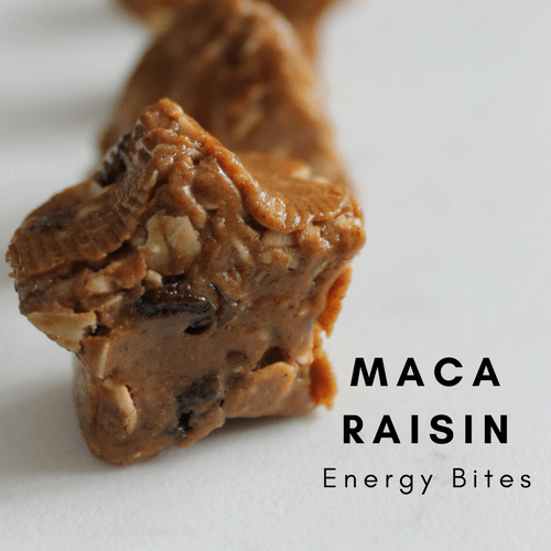Maca Raisin Energy Bite Recipe