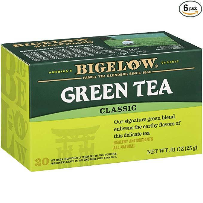 Green Tea - Gluten-free Low-fodmap Stocking Stuffers - Tayler Silfverduk