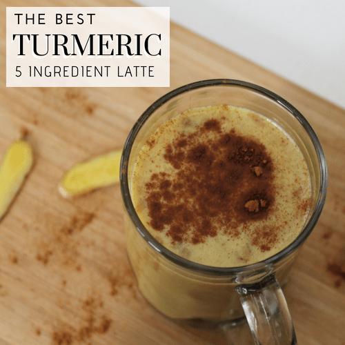 The Best 5 Ingredient Turmeric Latte