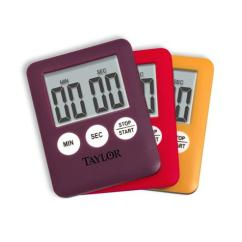 Digital Kitchen Timer Cart With Wine Rack Taylor Usa | Taylor® Slim - Timers