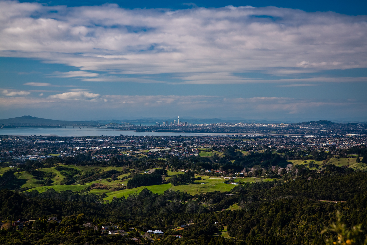 Auckland from Waitakere
