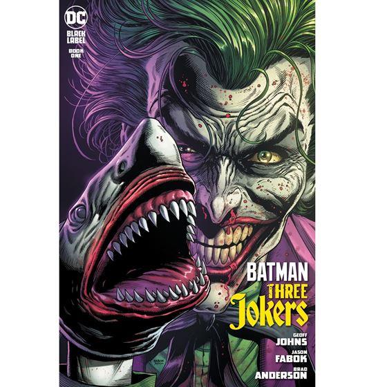BATMAN: THREE JOKERS #1 - 2DA EDICION (SIN CARTA)