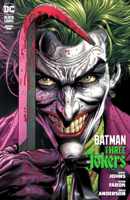 BATMAN: THREE JOKERS #1 PORTADA A (CON CARTA)