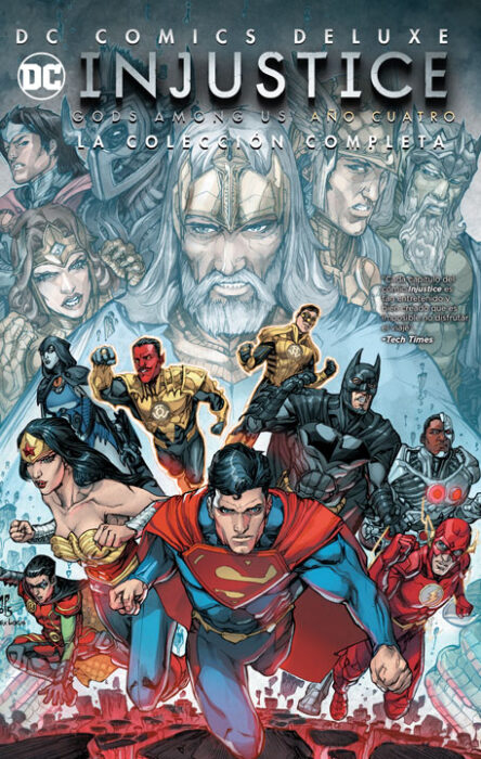 DC Comics Deluxe: Injustice: Gods Among Us Año 4