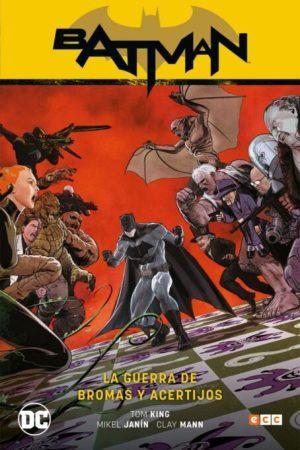 Batman vol. 06: La guerra de bromas y acertijos (Batman Saga - Renacimiento Parte 6)