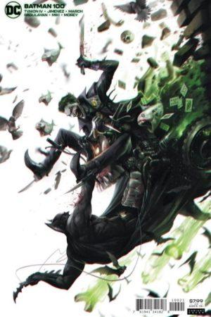 Batman Vol 3 #100 Cover B Variant Francesco Mattina