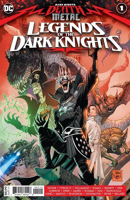 DC DEATH METAL - LEGENDS OF THE DARK KNIGHTS