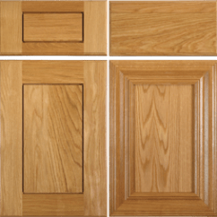 Kitchen Cabinet Door Replacing Doors Timeless White Oak And Rift For Cabinets