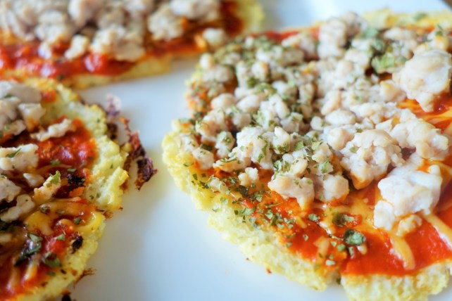 Gluten-Free and Nearly NO-Carb Pizza Crust