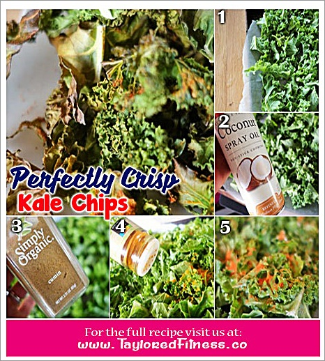 Perfectly Crisp Kale Chips