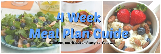 4 week meal plan guide