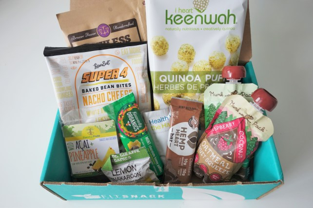 February Fit Snack Box Review
