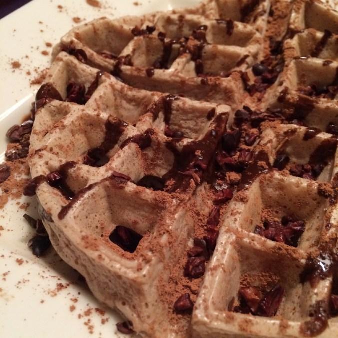 SLAPtastic chocolate waffles