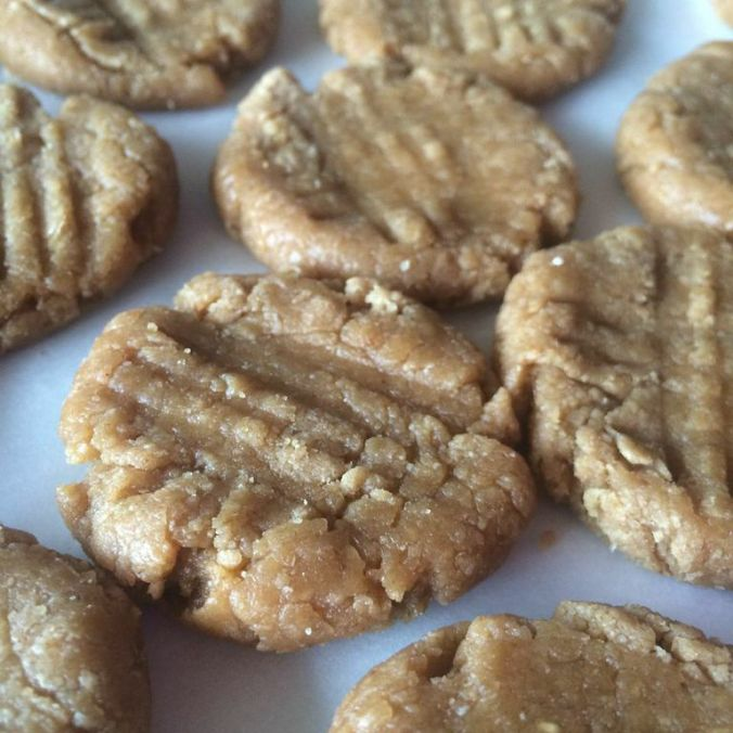 PB Protein No-Bake Cookies!