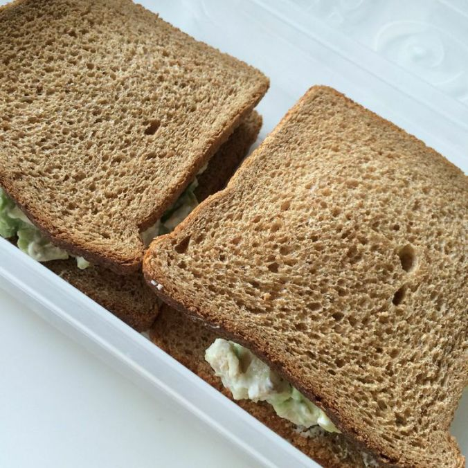 Chicken Avocado Salad Sandwich