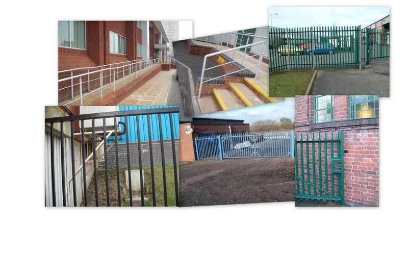 Fencing Metal Steel Fabrication Steel post