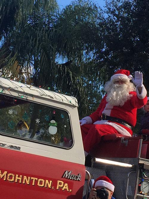 Westchase Santa Parade