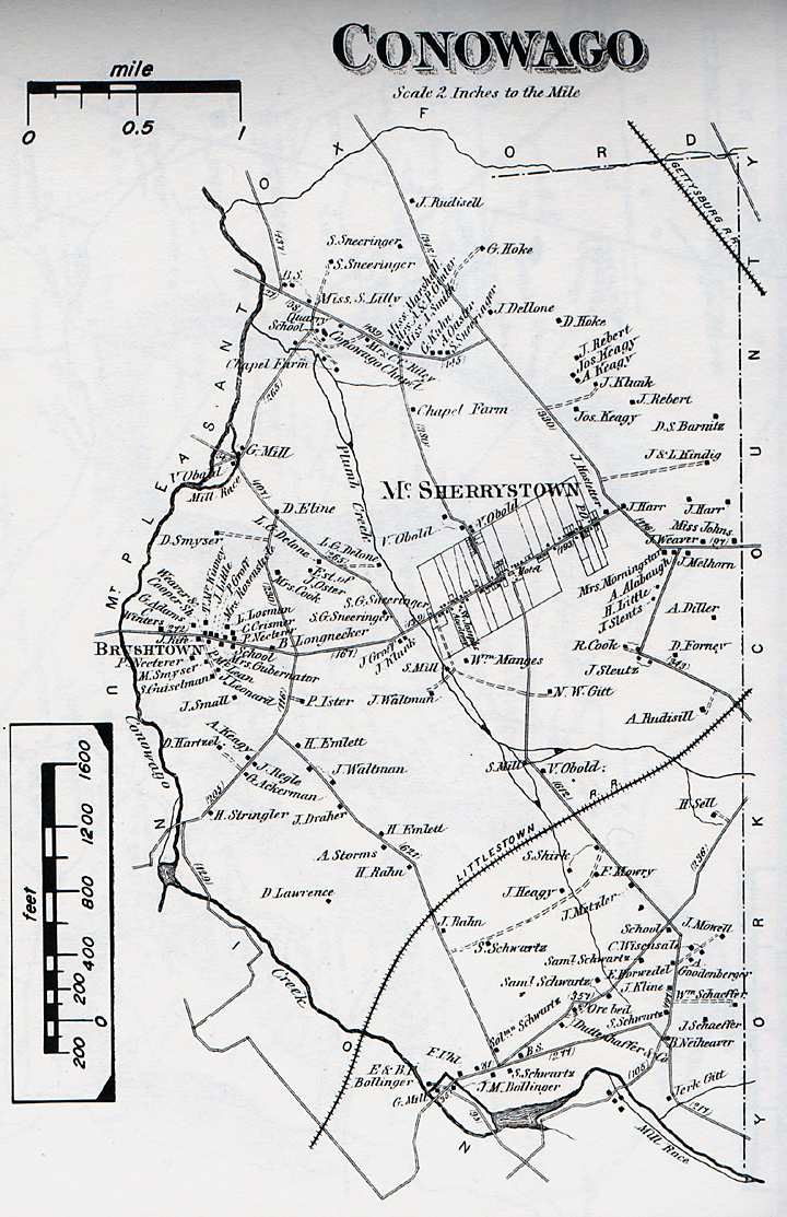 Map Uwchlan Township
