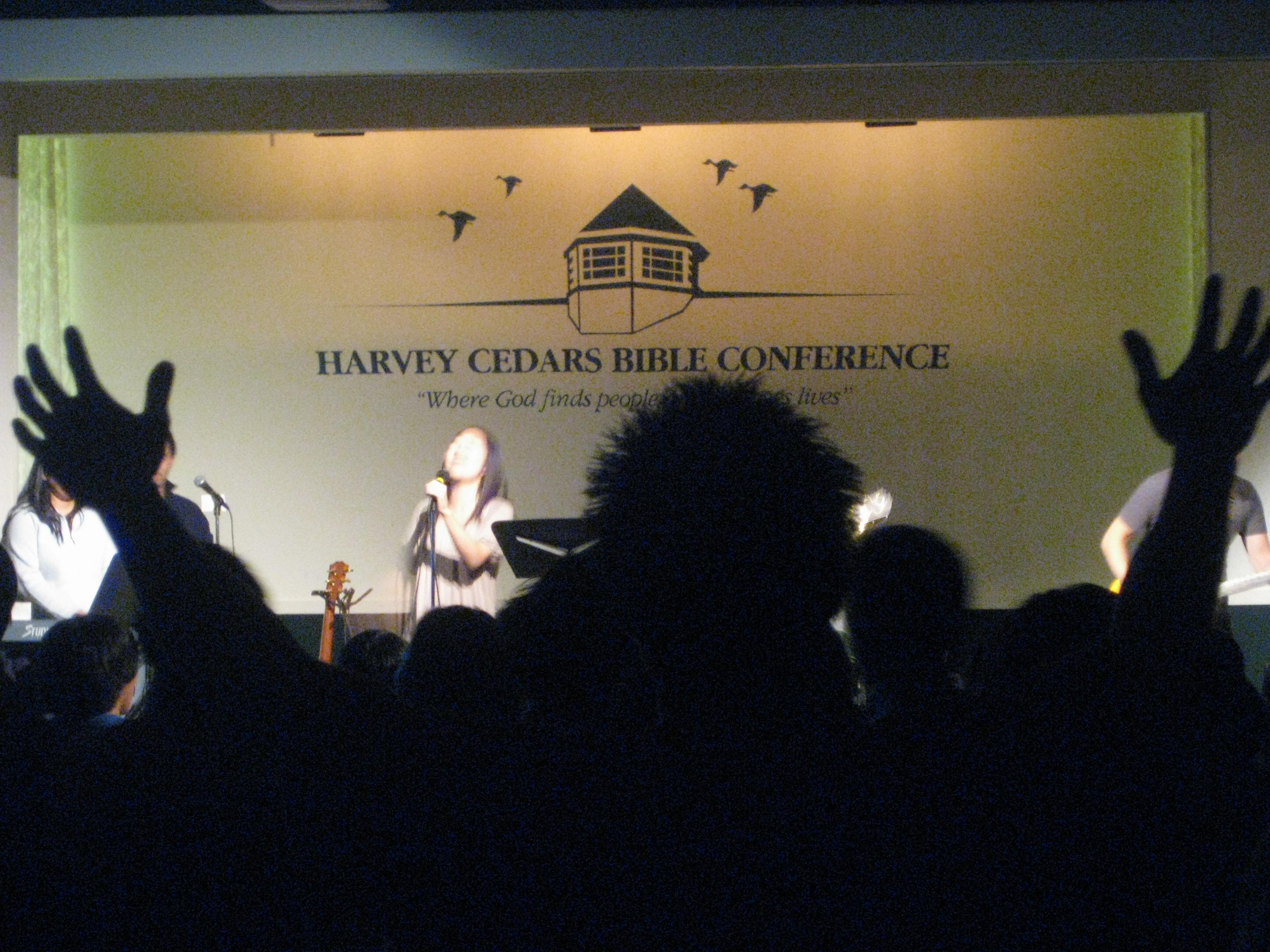 Worship at Bethany Youth Retreat