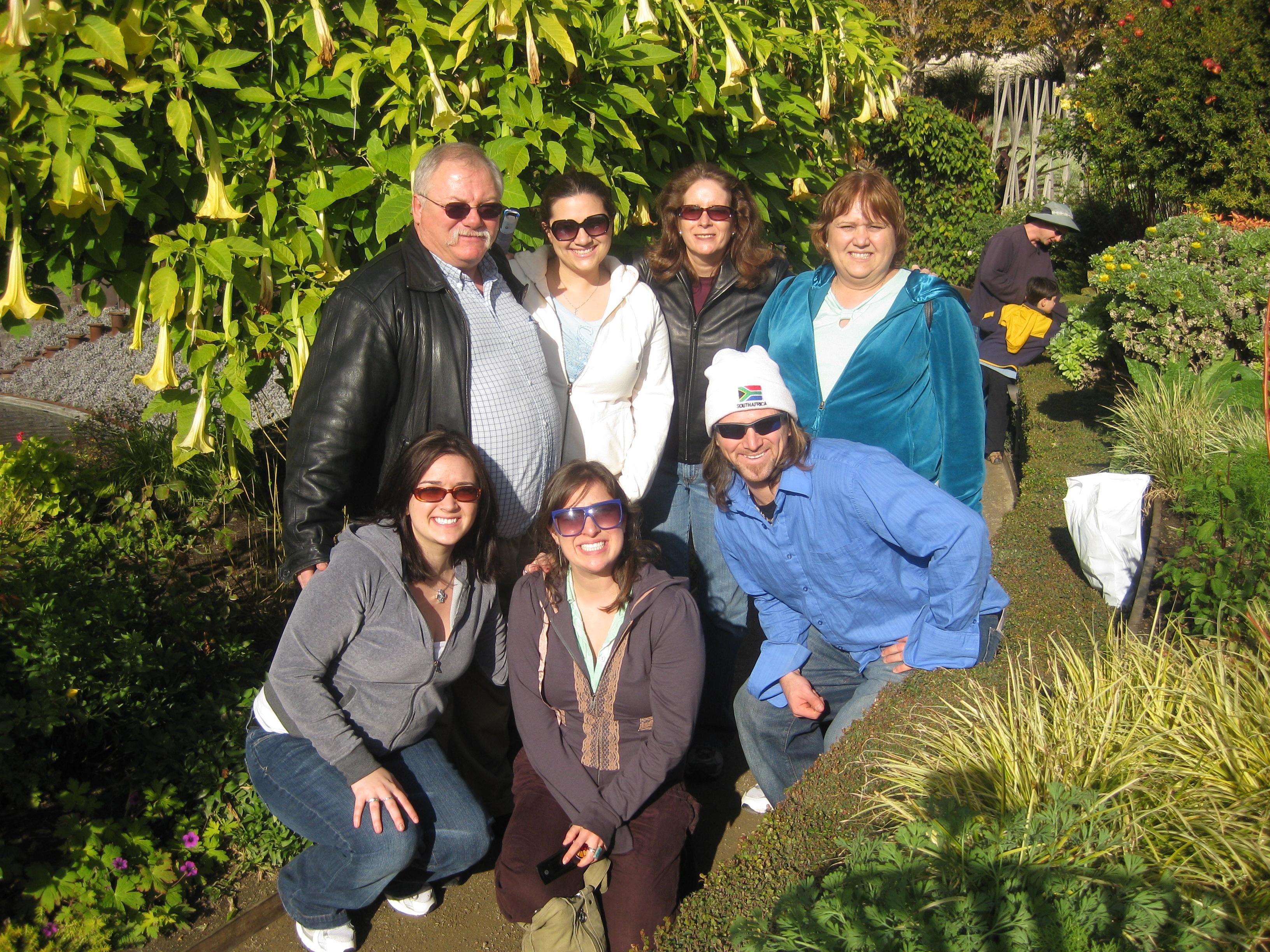 Illana, Aunt Alice and the Hargrove's