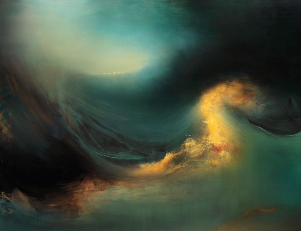 Oceanscape Abstract Art Samantha Keely Smith